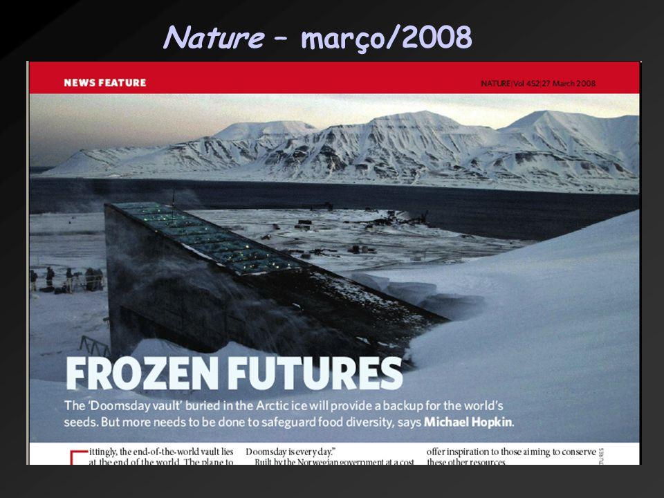 Nature – março/2008