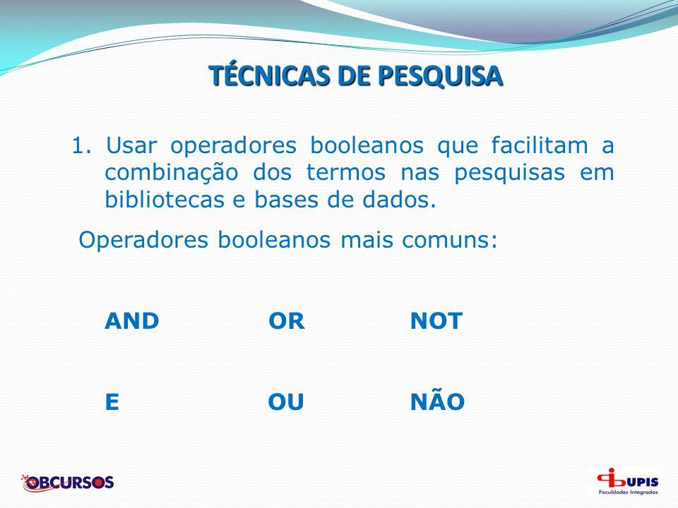 FONTES DE PESQUISA 3.