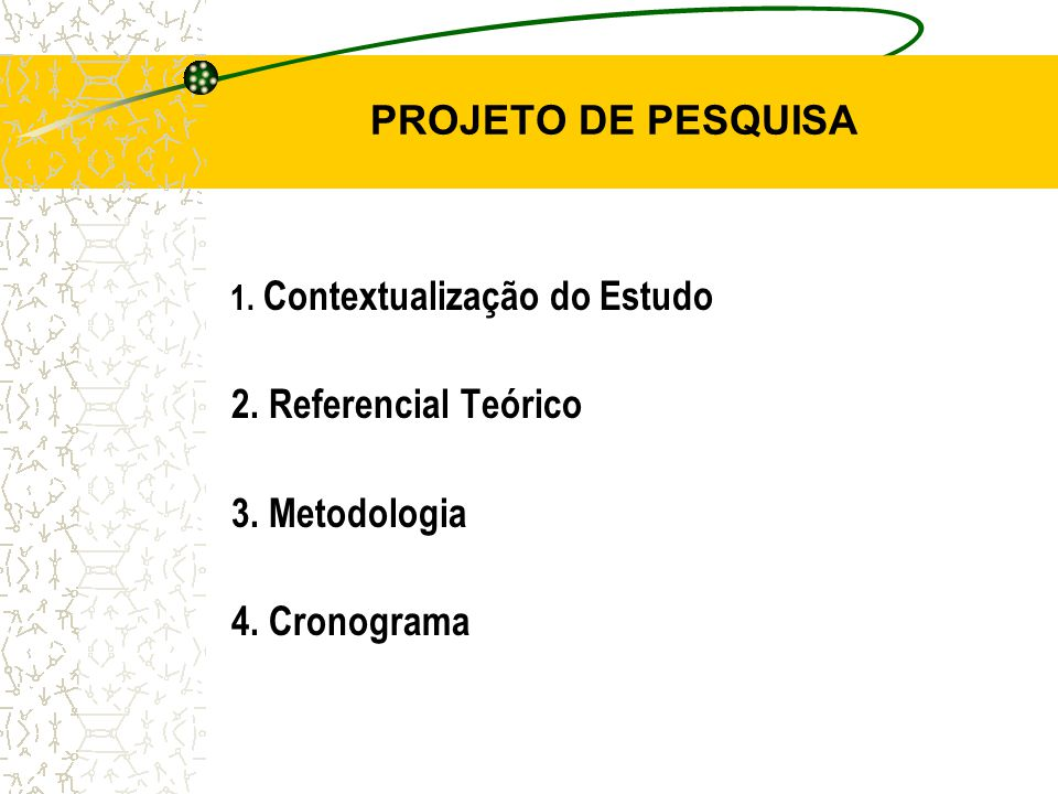CONTEXTUALIZAÇÃO DO ESTUDO 1.Apresentação do Tema 2.