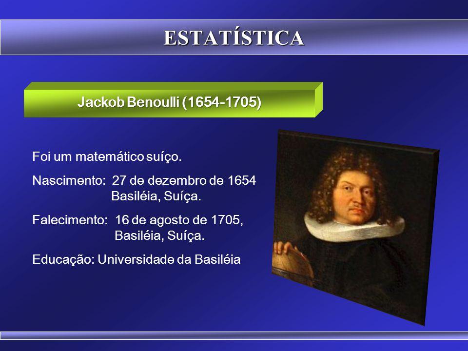 Prof. Hubert Chamone Gesser, Dr. Retornar Distribuição de Bernoulli Disciplina de Probabilidade e Estatística
