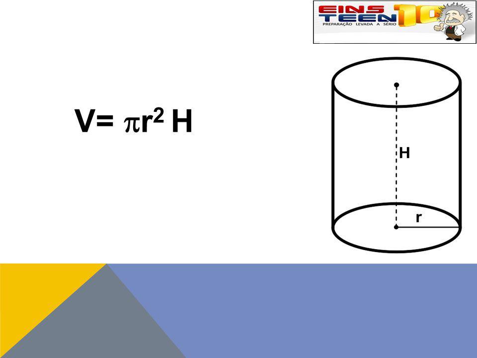 V=  r 2 H
