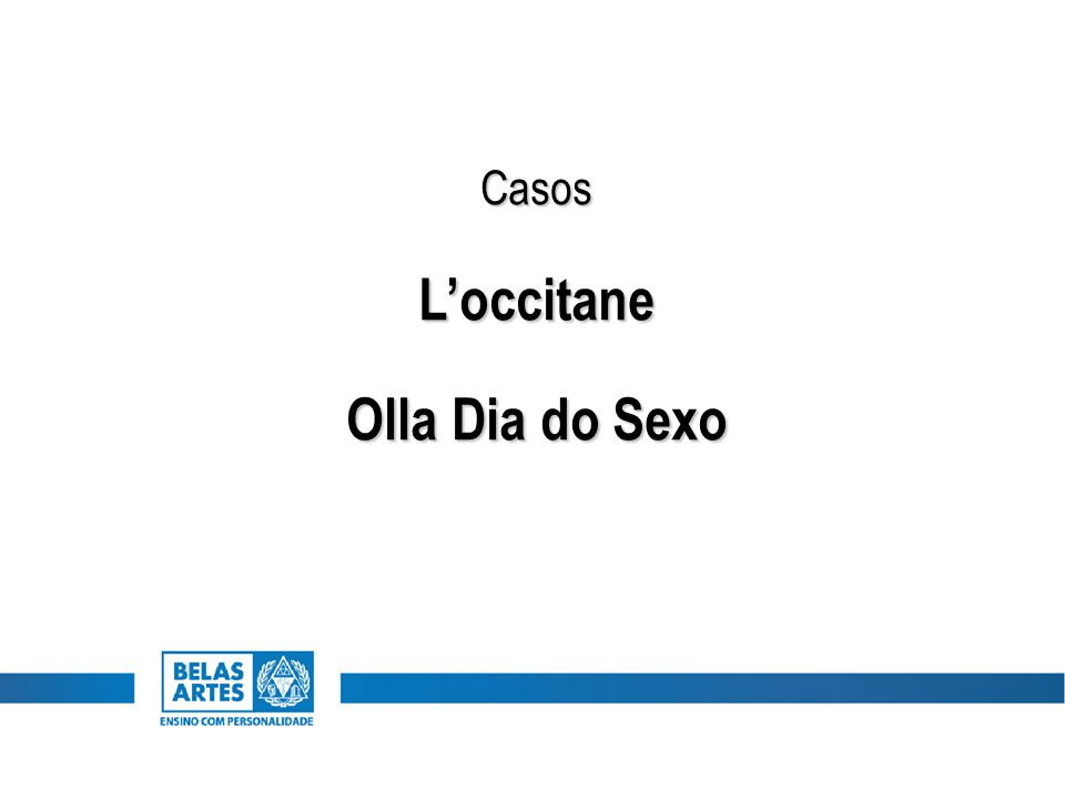 CasosL'occitane Olla Dia do Sexo