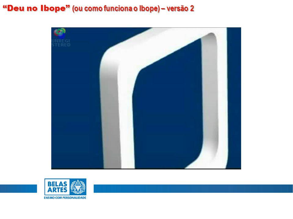 """""""Deu no Ibope"""" (ou como funciona o Ibope) – versão 2"""