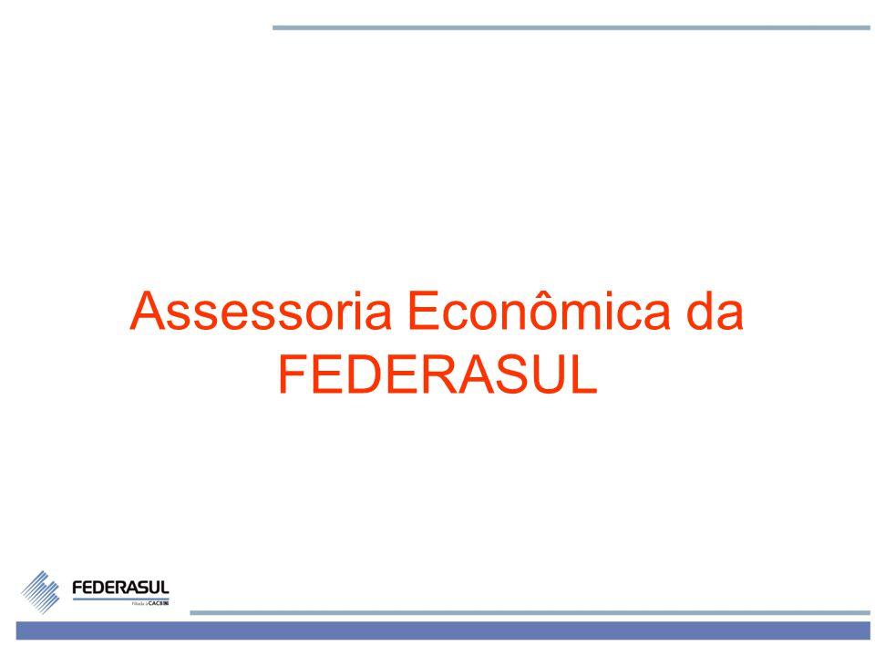 12 Assessoria Econômica da FEDERASUL