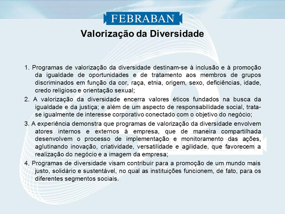 Valorização da Diversidade 1.