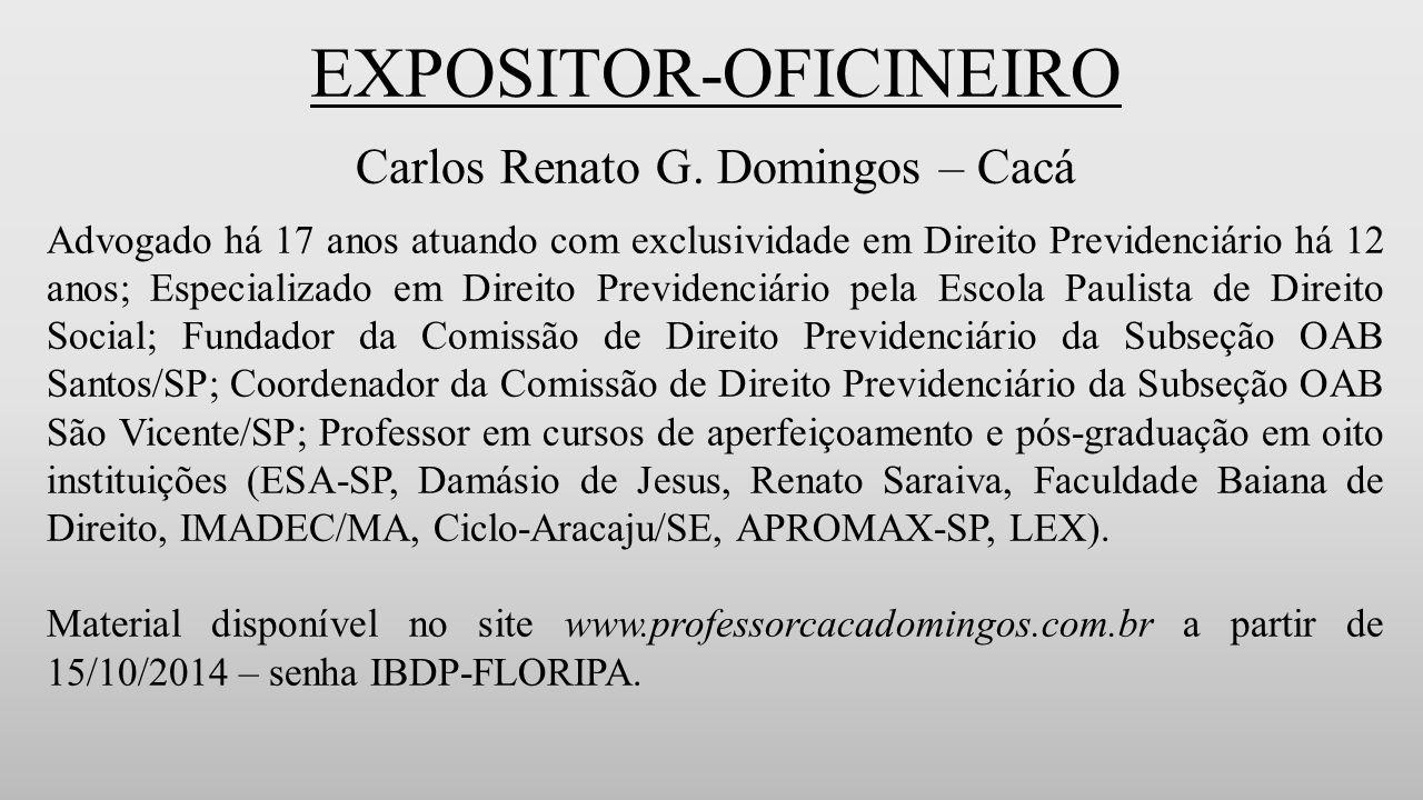 EXPOSITOR-OFICINEIRO Carlos Renato G.
