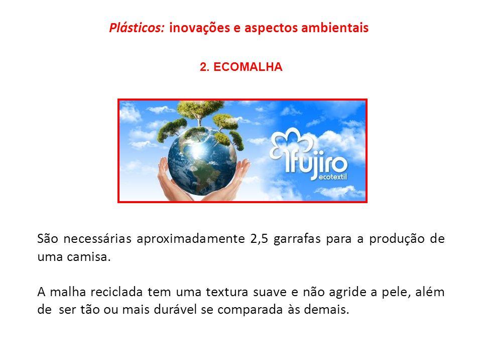 Plásticos: inovações e aspectos ambientais 2.