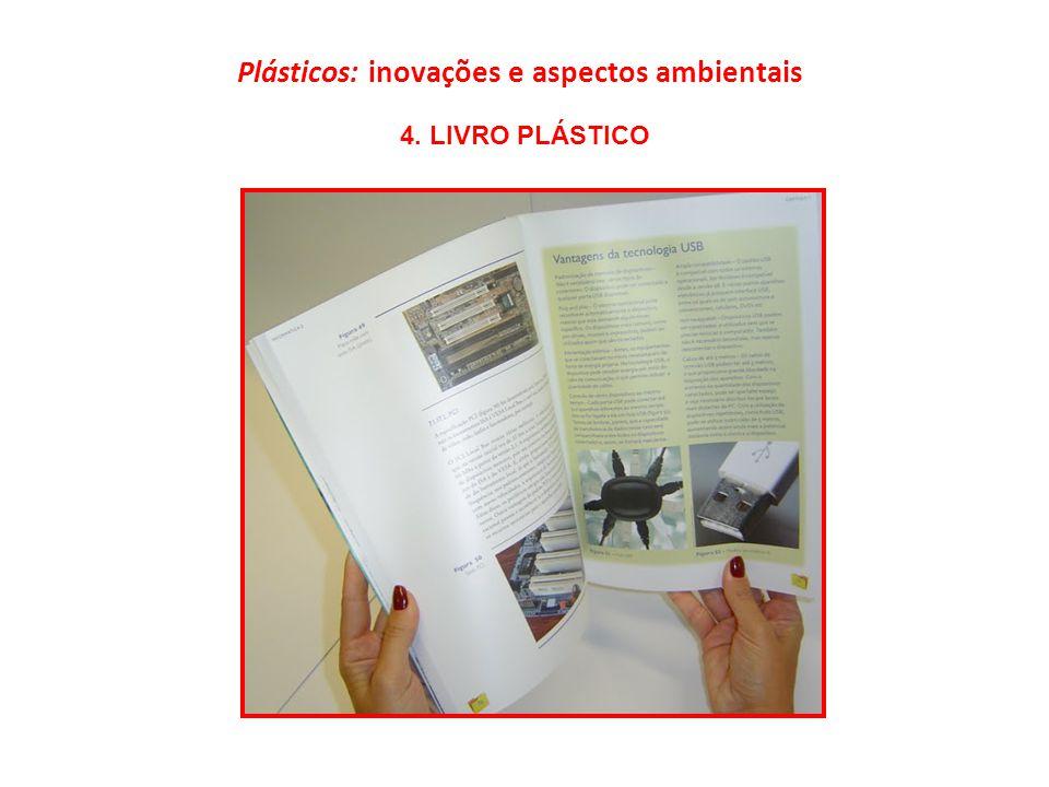 Plásticos: inovações e aspectos ambientais 4. LIVRO PLÁSTICO