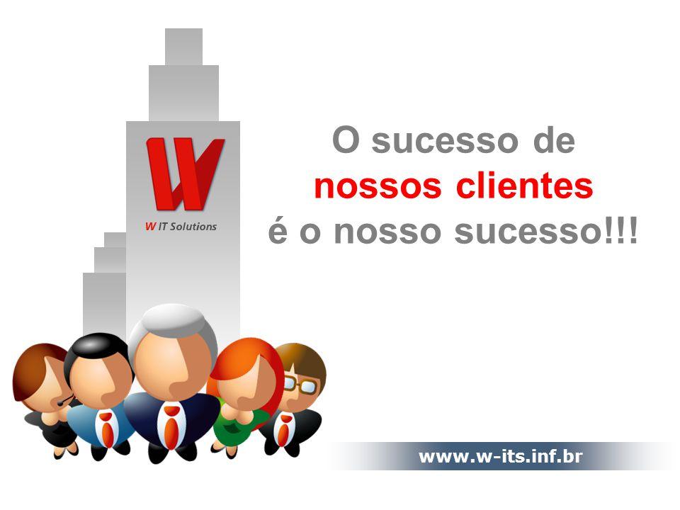 www.w-its.inf.br O sucesso de nossos clientes é o nosso sucesso!!!