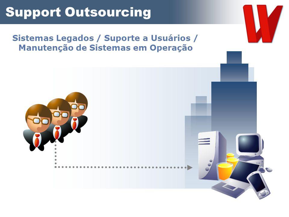 Support Outsourcing Sistemas Legados / Suporte a Usuários / Manutenção de Sistemas em Operação