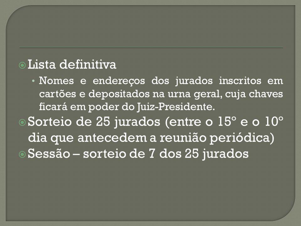  3º) Se o acusado deve ser absolvido O jurado absolve o acusado.