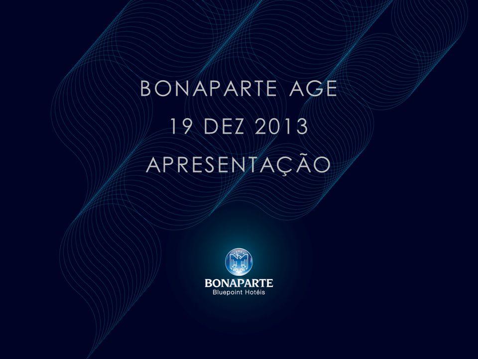 BONAPARTE AGE 19 DEZ 2013 APRESENTAÇÃO