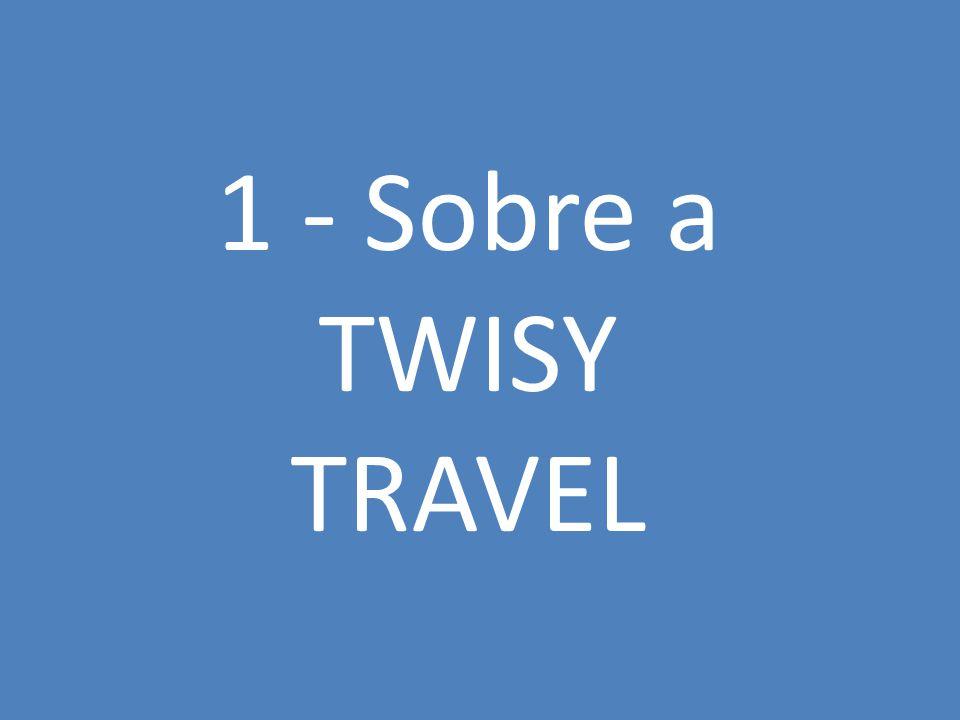 Informações sobre a estratégia do negócio TWISY, acrônimo para The World is Yours, é uma agência de viagens destinada a atender os públicos A e B, com os mais variados gostos de entretenimento.