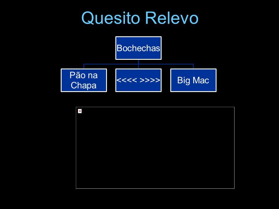Quesito Relevo Bochechas Pão na Chapa >>>Big Mac