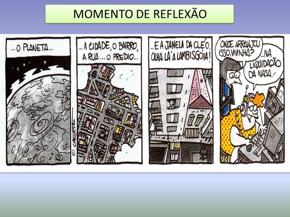 MOMENTO DE REFLEXÃO