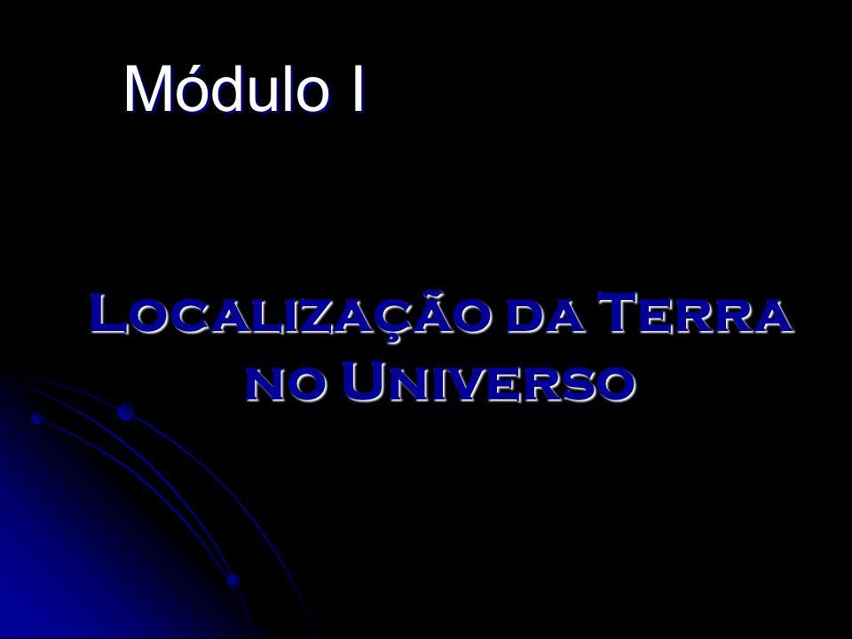 Localização da Terra no Universo Módulo I
