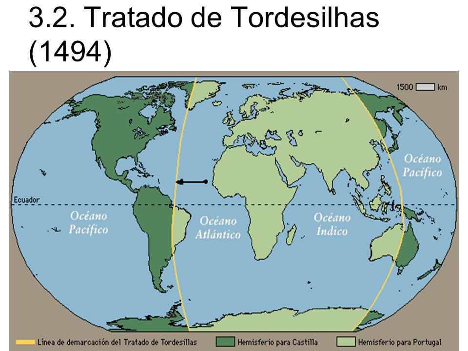 3.2. Tratado de Tordesilhas (1494)