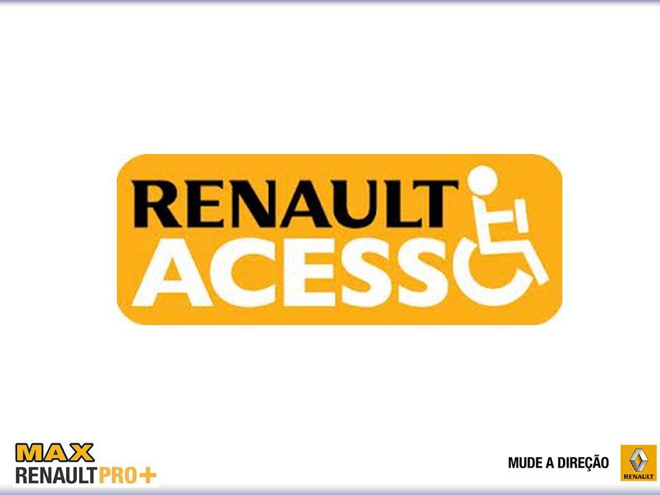 A Renault conta com o Programa Renault Acesso que disponibiliza um atendimento personalizado para este segmento  Área exclusiva;  Equipe especializada  Test-drive  Acesso gratuito à internet;