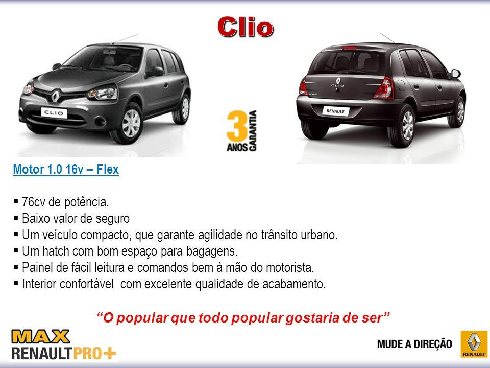 Motor 1.0 16v – Flex  76cv de potência.  Baixo valor de seguro  Um veículo compacto, que garante agilidade no trânsito urbano.  Um hatch com bom e