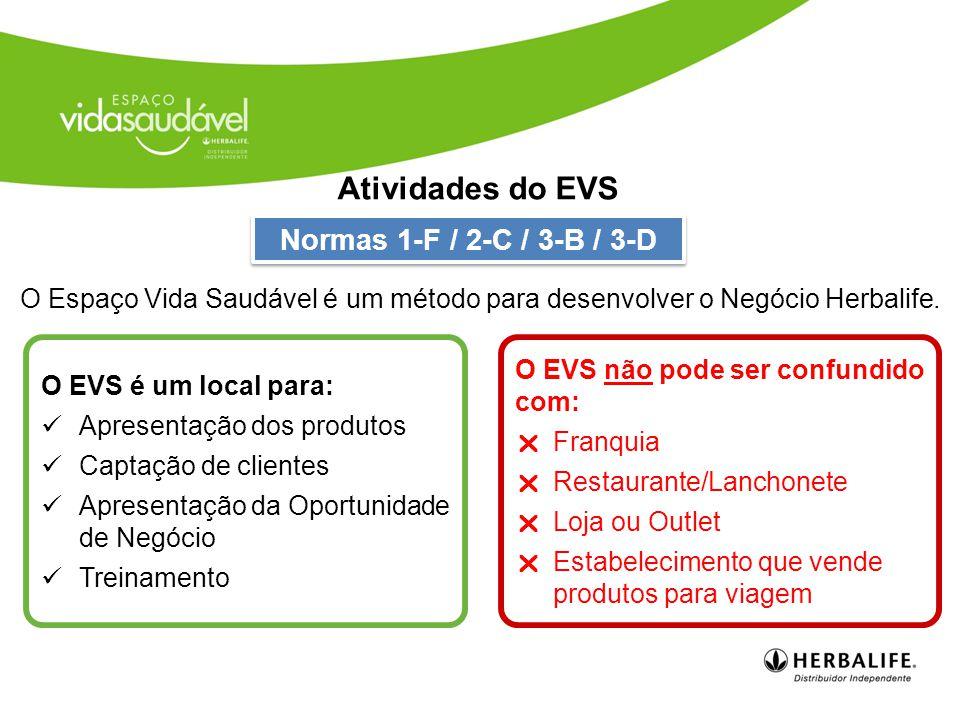 Antes de abrir um EVS não-residencial, você deve ser um Distribuidor Independente cadastrado na Herbalife no mínimo há 90 dias.