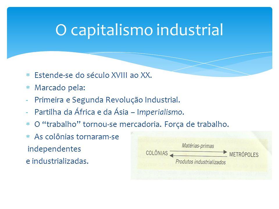  Se desenvolve depois da I Guerra Mundial. O capital acumulado precisa ser multiplicado.