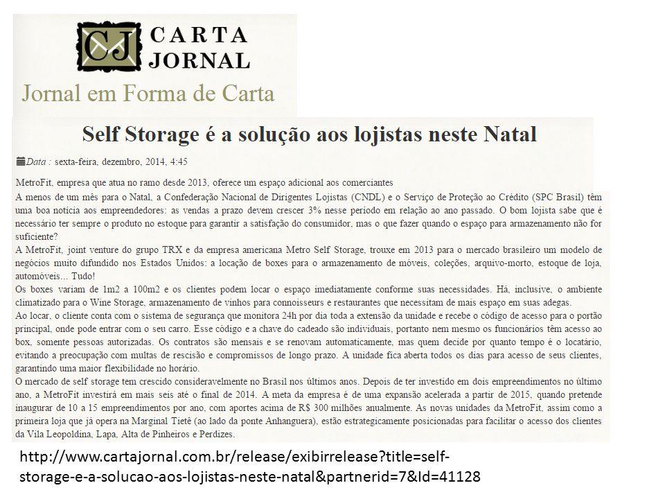 http://www.cartajornal.com.br/release/exibirrelease?title=self- storage-e-a-solucao-aos-lojistas-neste-natal&partnerid=7&Id=41128