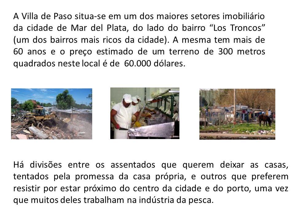 """A Villa de Paso situa-se em um dos maiores setores imobiliário da cidade de Mar del Plata, do lado do bairro """"Los Troncos"""" (um dos bairros mais ricos"""