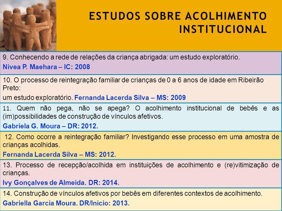 DESAFIOS METODOLÓGICOS Participantes: -Crianças; -Psicólogas; -Assistentes sociais; -Educadores; -Coordenadoras; -Professores; -Conselheiros tutelares.