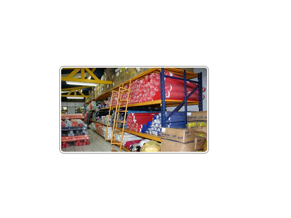 Fluxo dos materiais no almoxarifado Fornecedores externos Compras Inspeção de qualidade no recebimento do material AlmoxarifadoRMs Seções produtivas