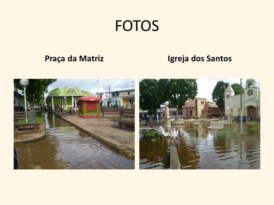 FOTOS Praça da MatrizIgreja dos Santos
