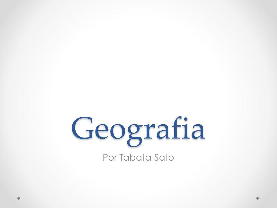 Turismo Relacionada às condições geográficas.