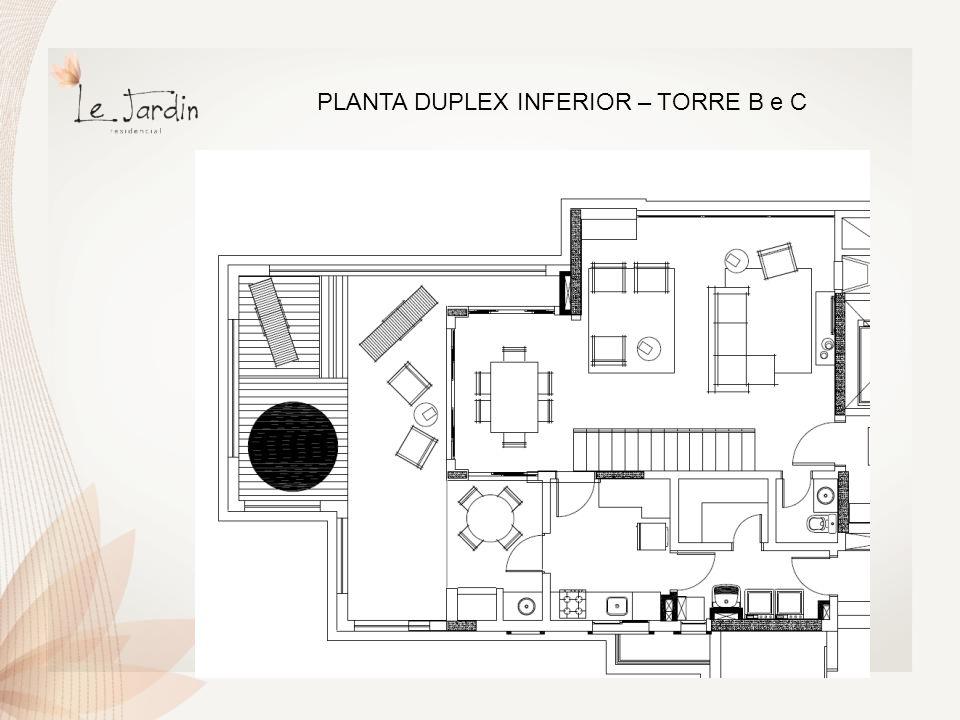 PLANTA DUPLEX SUPERIOR – TORRE B e C