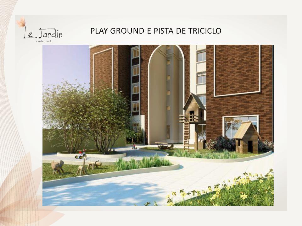 PLAY GROUND E PISTA DE TRICICLO