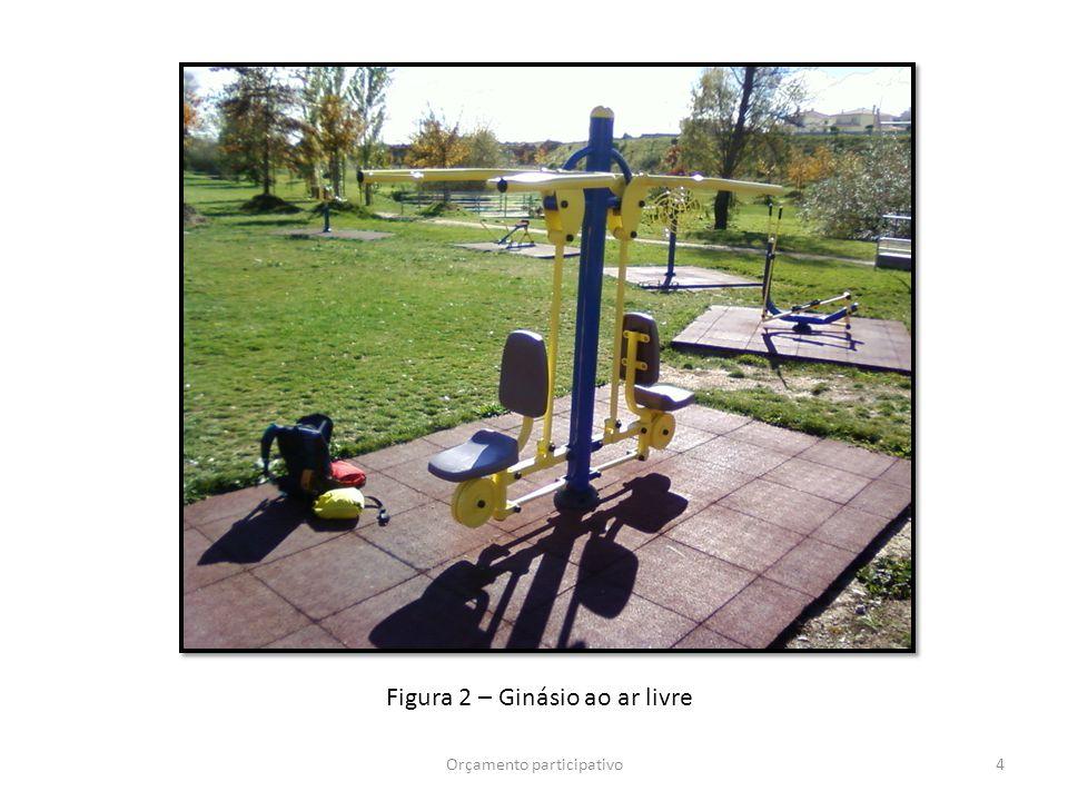 4Orçamento participativo Figura 2 – Ginásio ao ar livre