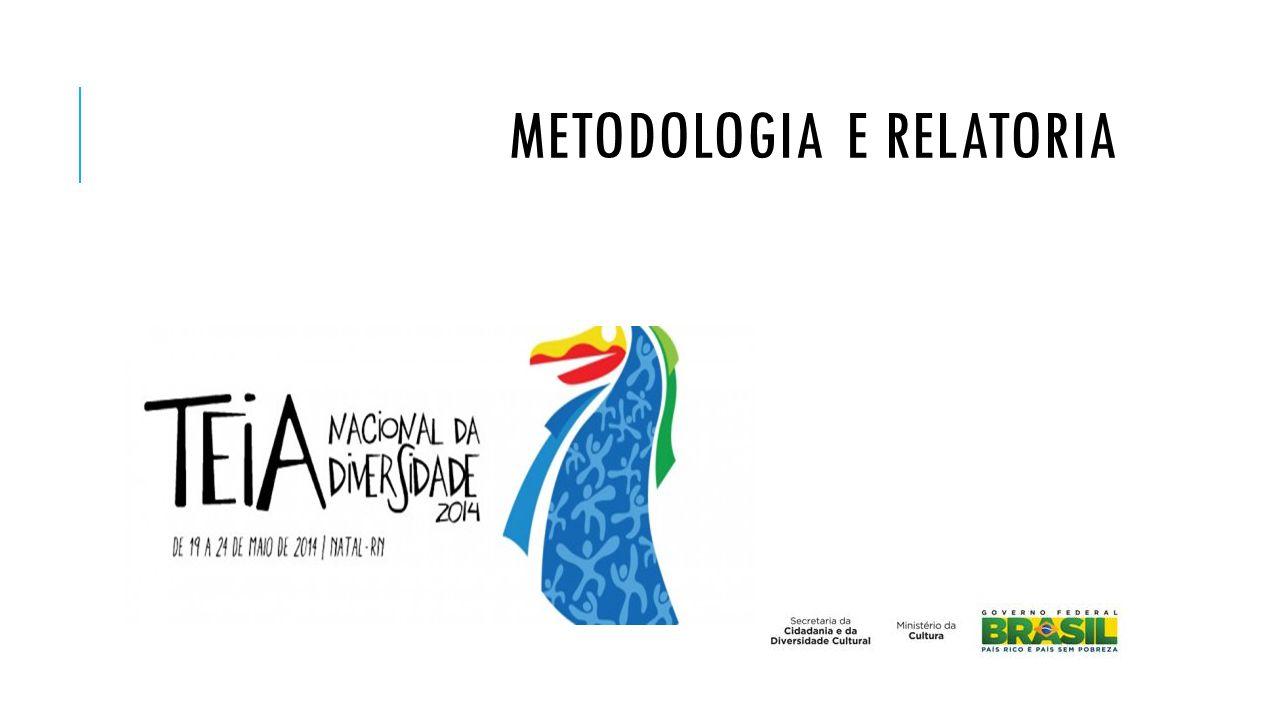 METODOLOGIA E RELATORIA