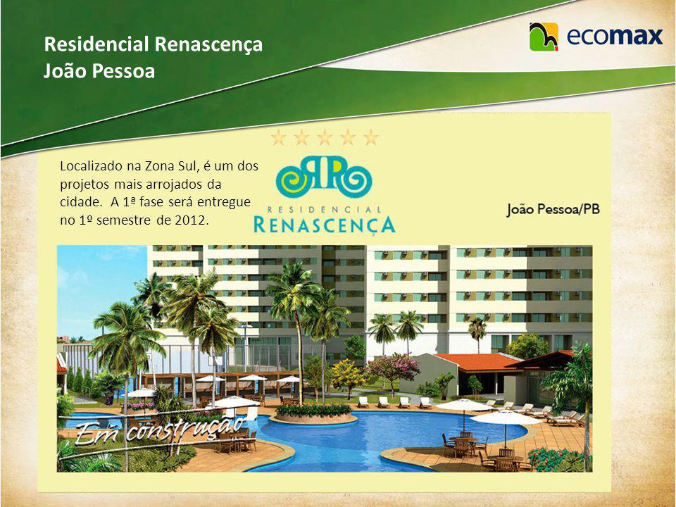 Condomínio Bosque de Intermares João Pessoa Localizado em Cabedelo, entre a Praia do Jacaré e o mar de Intermares.