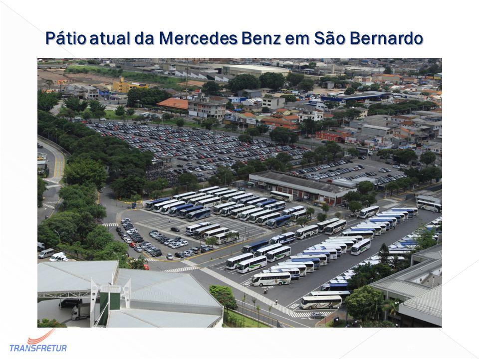 Pátio atual da Mercedes Benz em São Bernardo 19