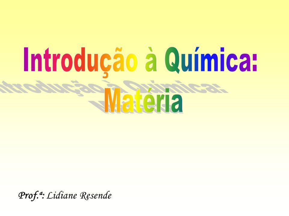 Prof.ª: Lidiane Resende