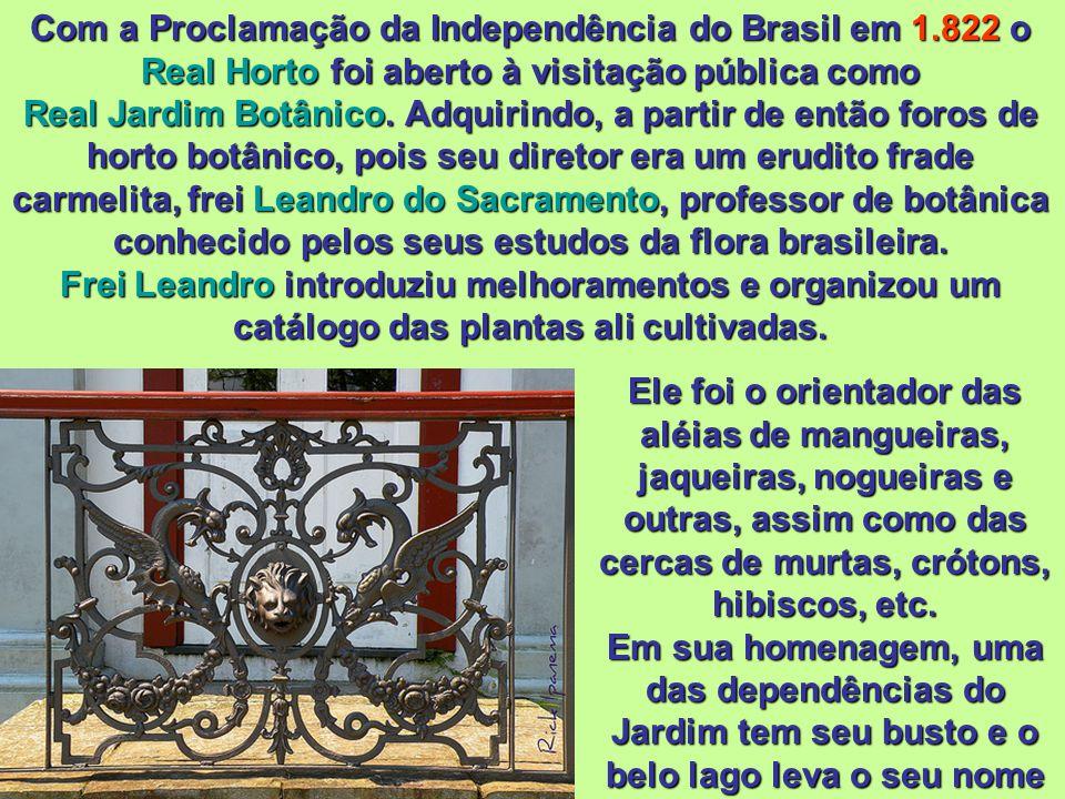No período entre 1.990 a 1.993, o Jardim Botânico firmou um convênio com a Fundação Banco do Brasil para a realização da restauração do prédio. A part