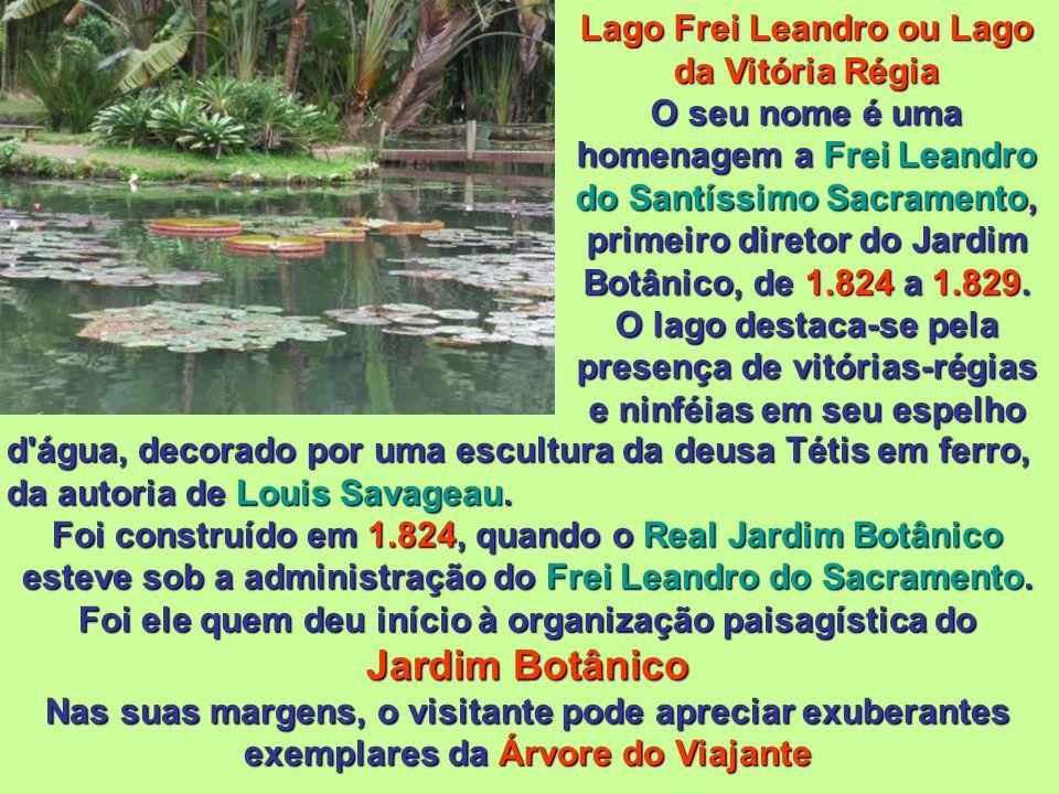 Busto de D. João VI Em 30 de setembro de 2.009, a Companhia Vale do Rio Doce assinou um convênio para preservar o Jardim Botânico, com o investimento