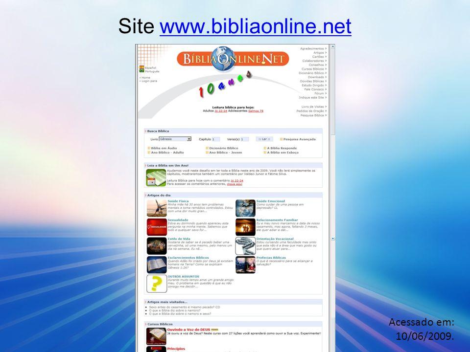 O curso bíblico oferece a visita domiciliar de um representante O aluno informa o endereço.