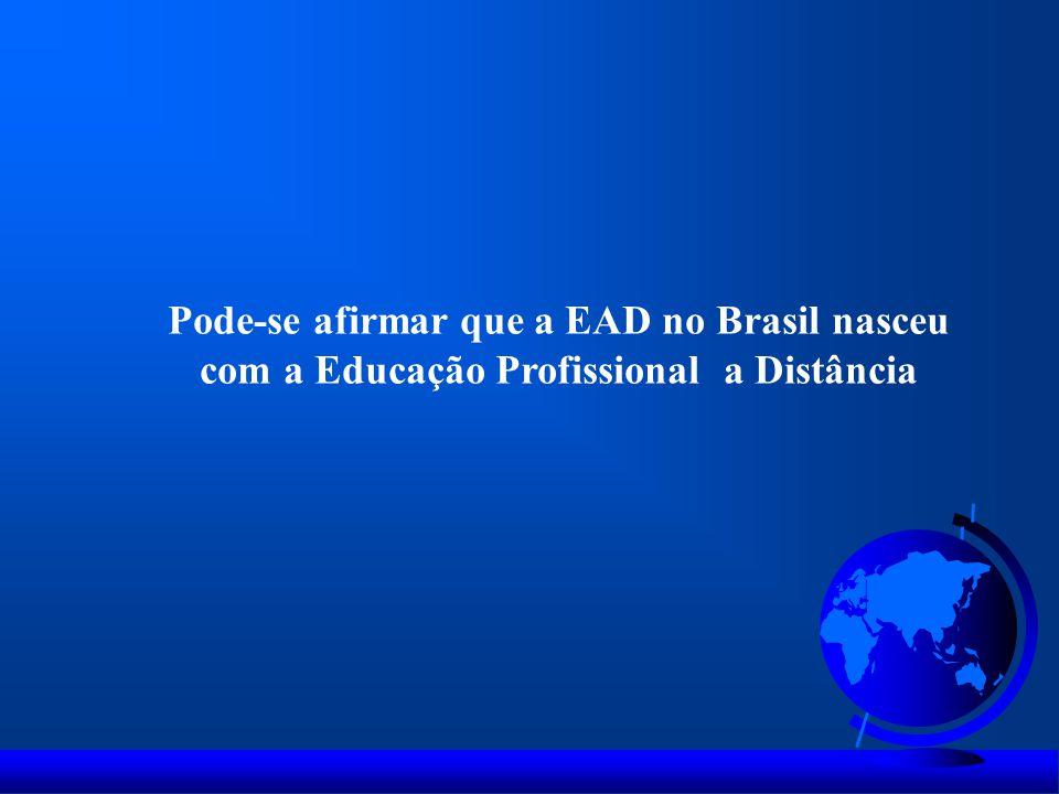 Evolução do número de matriculados Brasil 2004 a 2012 - Graduação Presencial e EAD 1.113.850 Alunos matriculados Graduação EAD