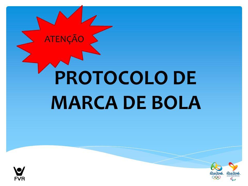 PROTOCOLO DE MARCA DE BOLA ATENÇÃO