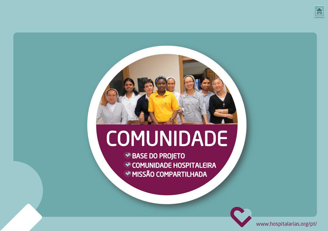 A base do nosso projeto são as pessoas: as destinatárias dos nossos serviços, os que atendem e aqueles envolvidos com a missão.