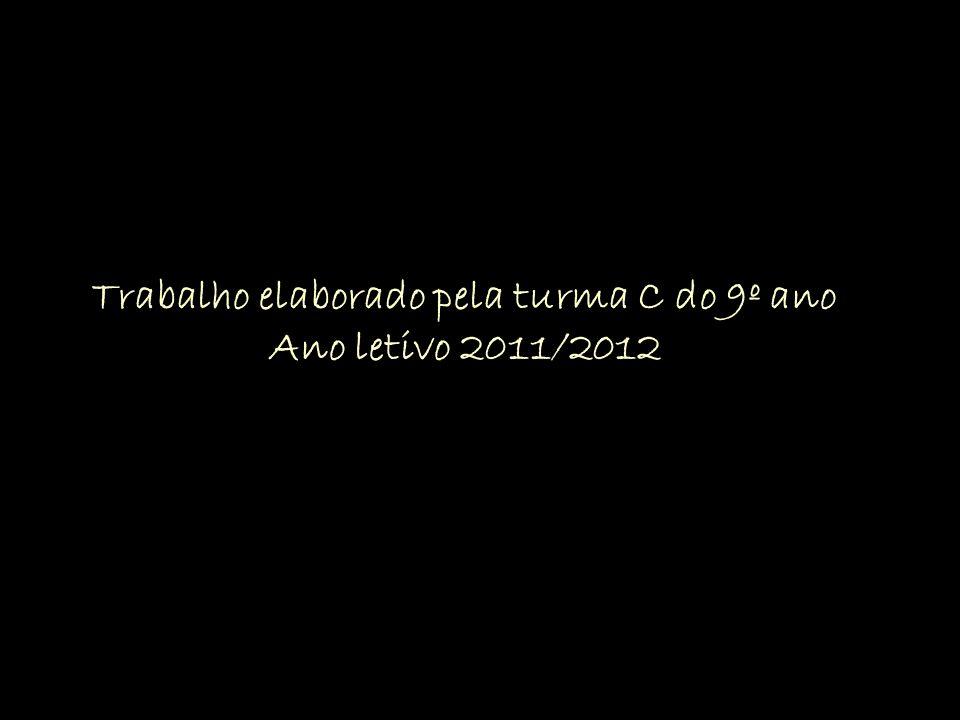 Trabalho elaborado pela turma C do 9º ano Ano letivo 2011/2012