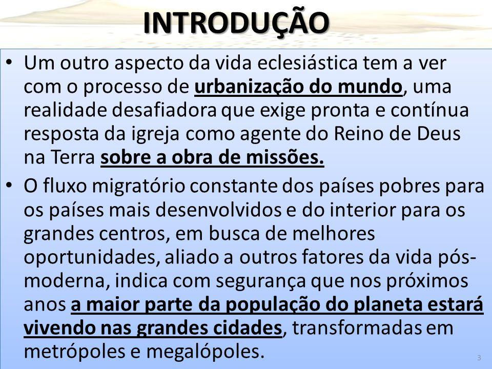 A Estratégia Urbana De Paulo Paulo procurava os grandes centros para depois irradiar-se para regiões adjacentes.