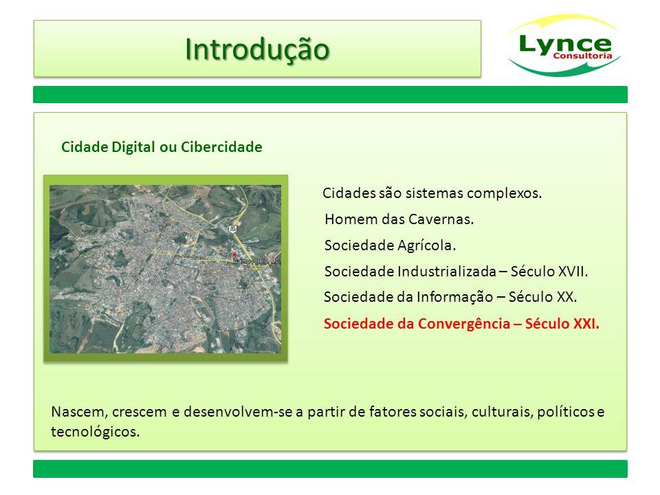 IntroduçãoIntrodução Cidades são sistemas complexos.