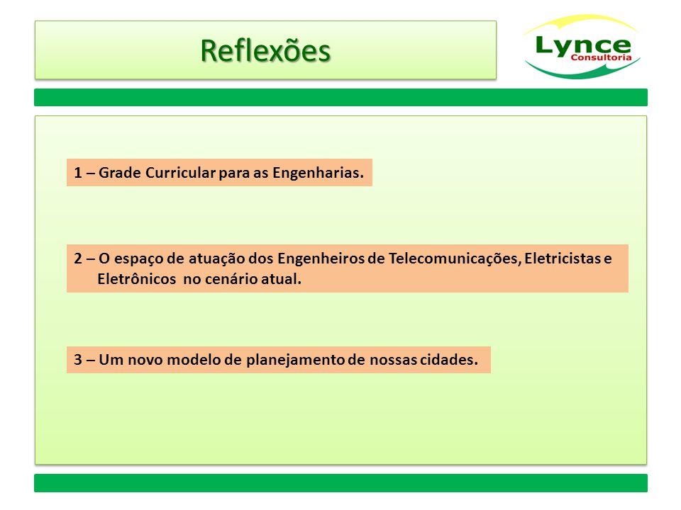 ReflexõesReflexões 1 – Grade Curricular para as Engenharias.