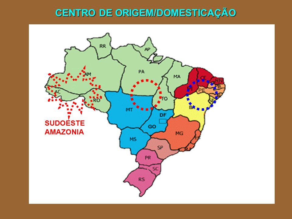 CENTRO DE ORIGEM/DOMESTICAÇÃO SUDOESTE AMAZONIA