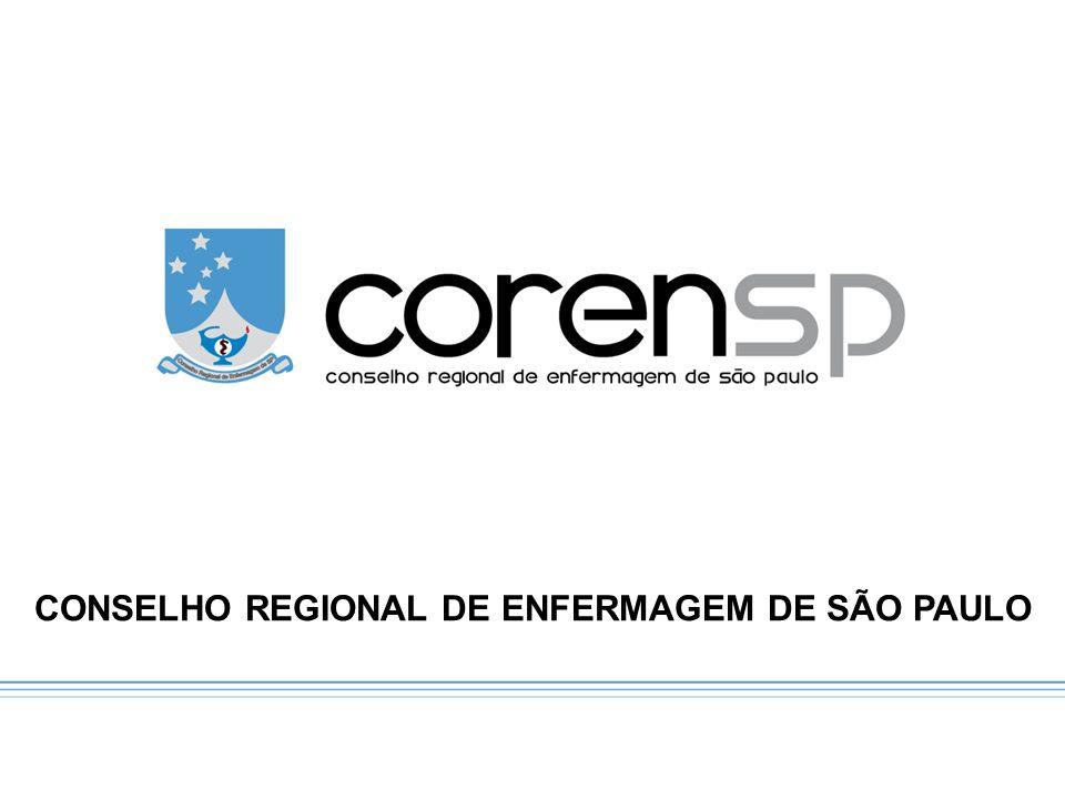 CONSELHO REGIONAL DE ENFERMAGEM DE SÃO PAULO